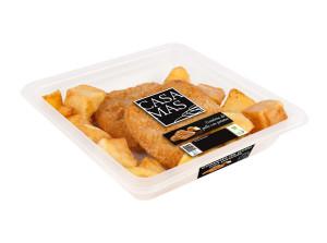 Cotoletta de pollo con patatas Casa Mas